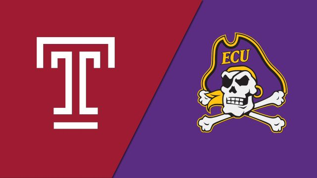 Sun, 2/23 - Temple vs. East Carolina (M Basketball)