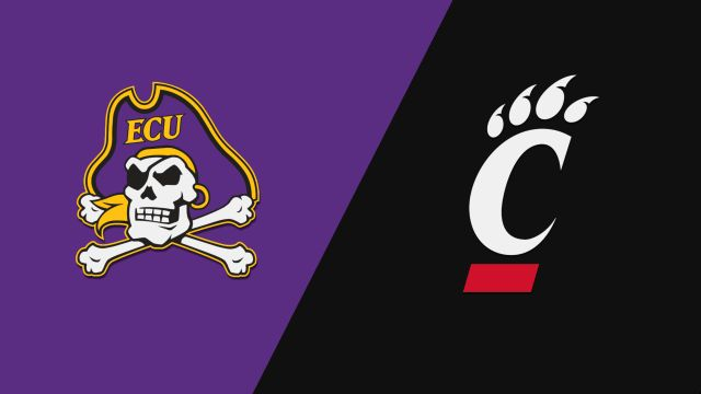 Sun, 1/19 - East Carolina vs. Cincinnati (M Basketball)