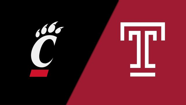 Wed, 1/22 - Cincinnati vs. Temple (M Basketball)