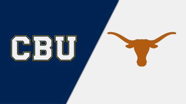 Tue, 11/12 - California Baptist vs. Texas (M Basketball)