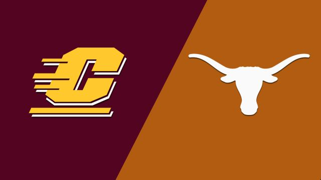 Sat, 12/14 - Central Michigan vs. Texas (M Basketball)