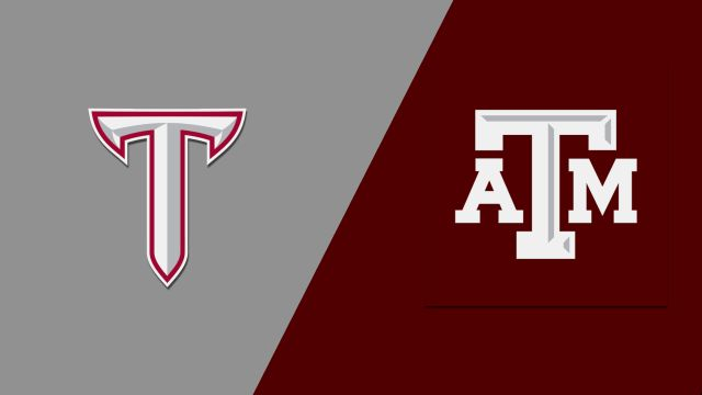 Troy vs. Texas A&M (M Basketball)