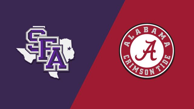 Stephen F. Austin vs. Alabama (M Basketball)