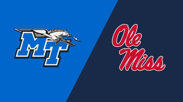Middle Tennessee vs. Ole Miss (M Basketball)