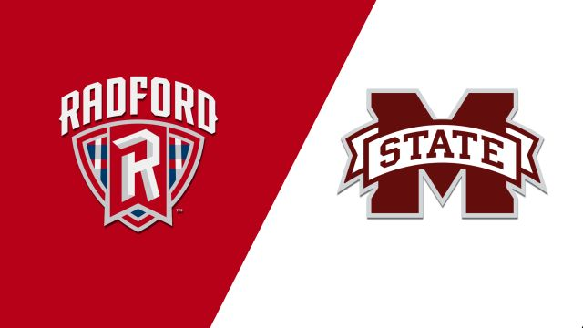 Radford vs. Mississippi State (M Basketball)
