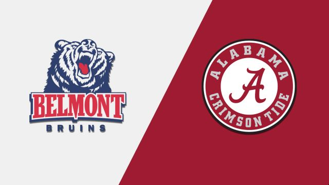 Belmont vs. Alabama (M Basketball)