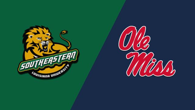 SE Louisiana vs. Ole Miss (M Basketball)