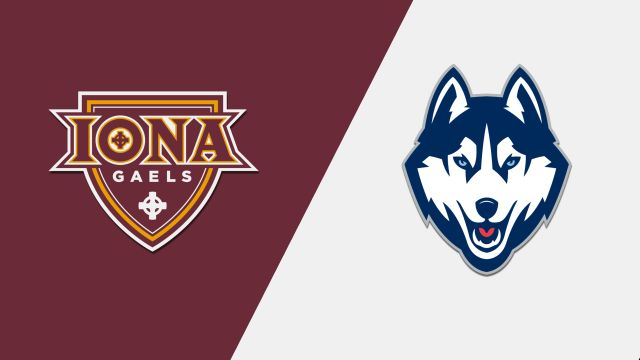 Iona vs. UConn (M Basketball)
