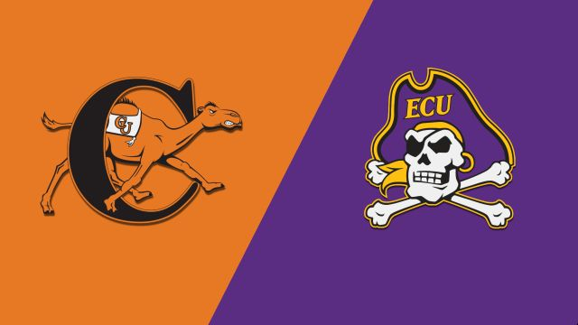 Campbell vs. East Carolina (M Basketball)