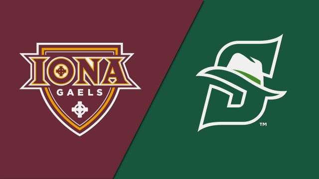 Iona vs. Stetson (M Basketball)