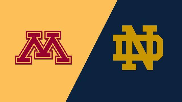 Minnesota vs. Notre Dame (W Basketball)