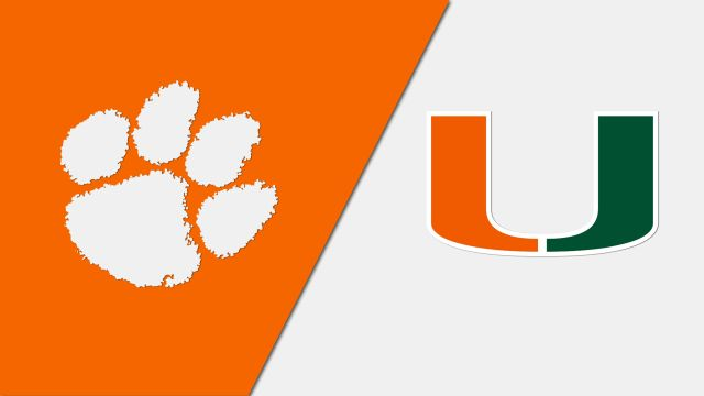 Clemson vs. Miami (W Basketball)