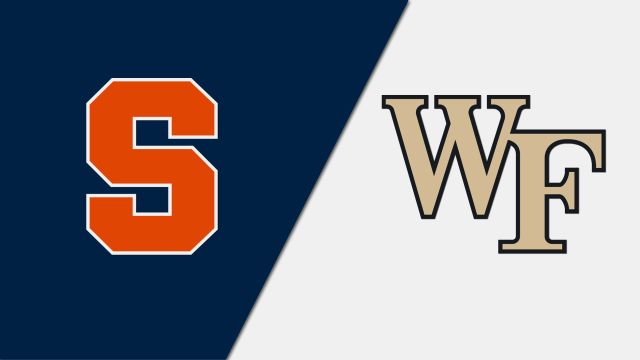Syracuse vs. Wake Forest (W Basketball)