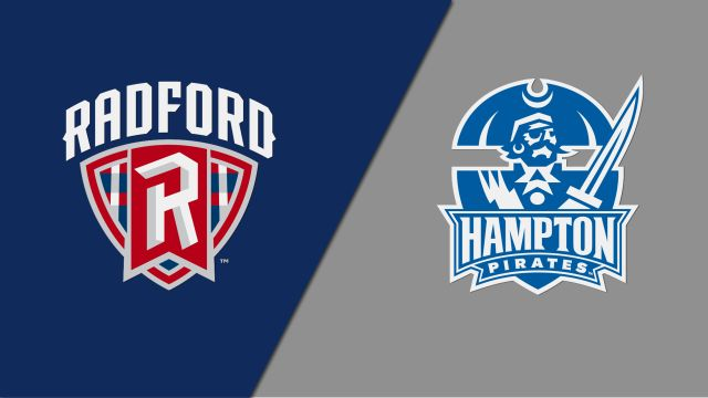 Thu, 2/27 - Radford vs. Hampton (M Basketball)