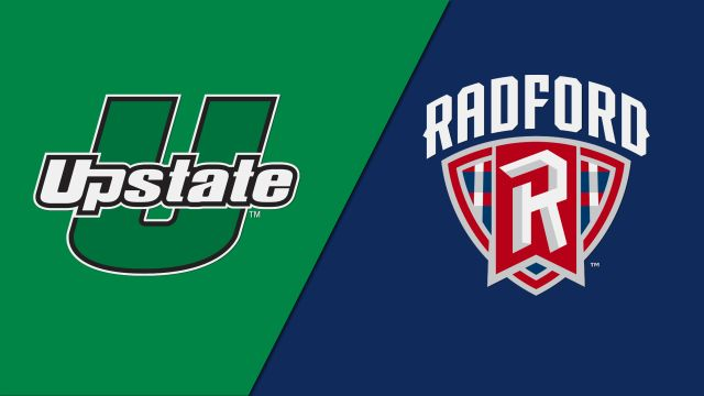 USC Upstate vs. Radford (M Basketball)