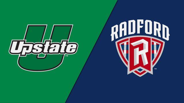 USC Upstate vs. Radford (M Basketball)