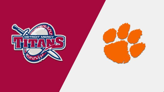 Detroit Mercy vs. Clemson (M Basketball)