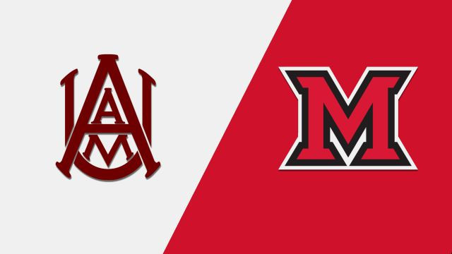 Alabama A&M vs. Miami (OH) (M Basketball)