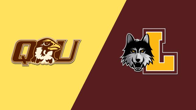 Quincy vs. Loyola (M Basketball)