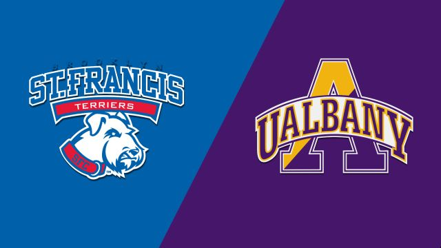 St. Francis Brooklyn vs. Albany (W Basketball)