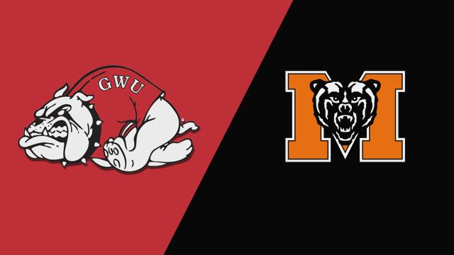Gardner-Webb vs. Mercer (W Basketball)