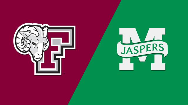 Fordham vs. Manhattan (W Basketball)