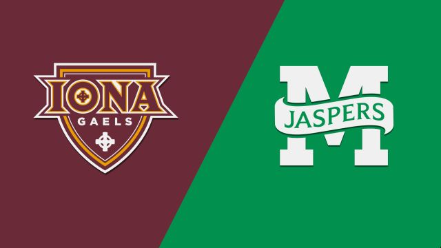 Iona vs. Manhattan (W Basketball)