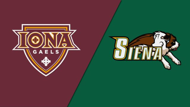 Iona vs. Siena (W Basketball)
