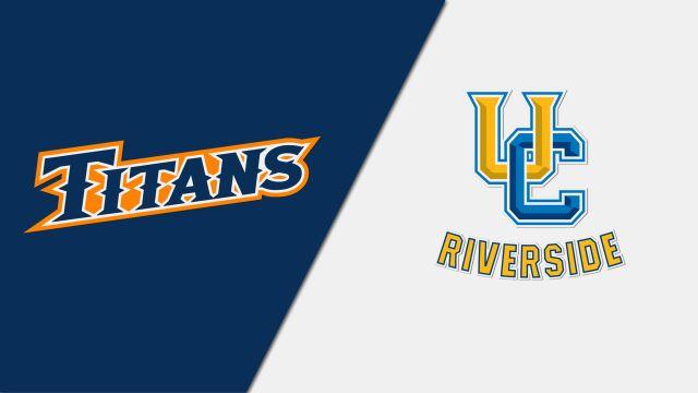 Cal State Fullerton vs. UC Riverside (W Basketball)