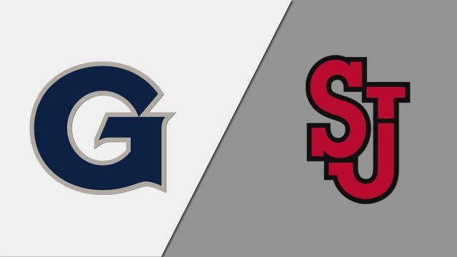 Georgetown vs. St. John's (W Volleyball)