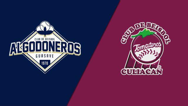 In Spanish-Algodoneros de Guasave vs. Tomateros de Culiacán (Liga Mexicana del Pacífico)