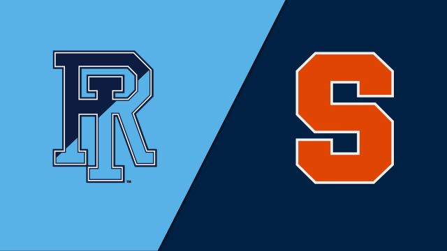 Rhode Island vs. Syracuse (First Round) (NCAA Men's Soccer Championship)