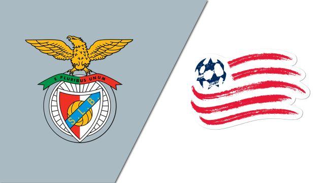 SL Benfica vs. New England Revolution