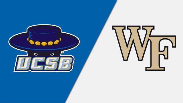 UC Santa Barbara vs. #4 Wake Forest (Quarterfinal) (NCAA Men's Soccer Championship)