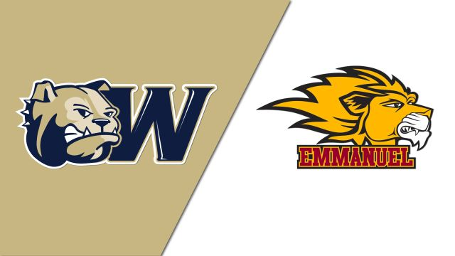 Wingate vs. Emmanuel (First Round) (NCAA DII Women's Volleyball Tournament)
