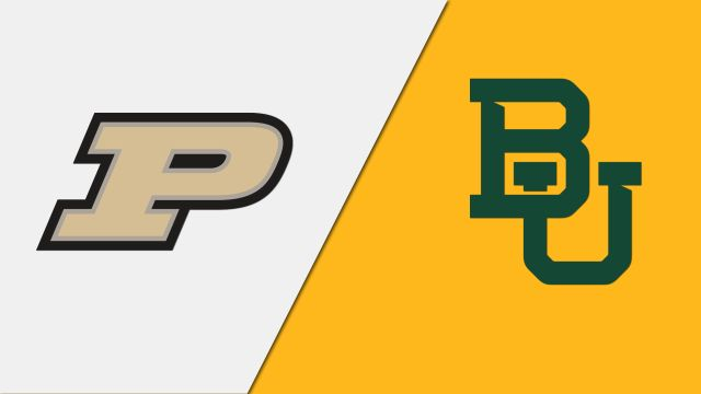 In Spanish-Purdue vs. Baylor (Regional Semifinal #1) (NCAA Women's Volleyball Tournament)
