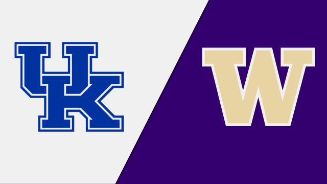 #9 Kentucky vs. #8 Washington (Regional Semifinal #2) (NCAA Women's Volleyball Tournament)