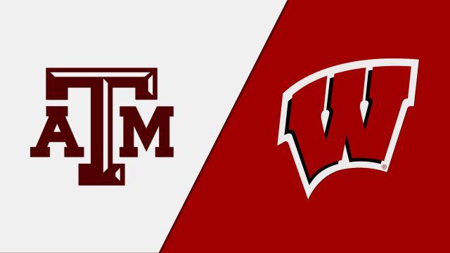 #13 Texas A&M vs. #4 Wisconsin (Regional Semifinal #1) (NCAA Women's Volleyball Tournament)