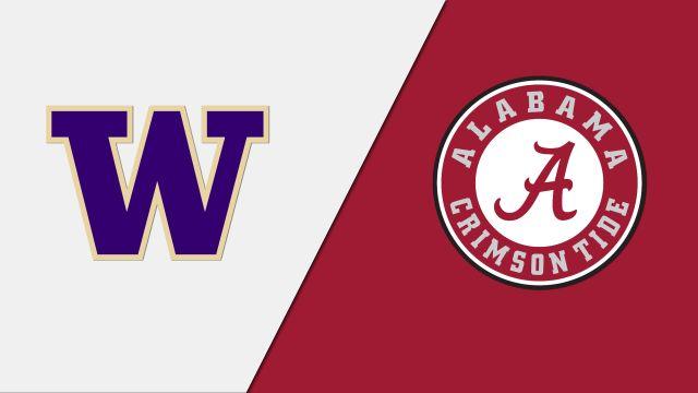 #1 Washington vs. #9 Alabama (Softball)