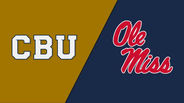 California Baptist vs. Ole Miss (Softball)