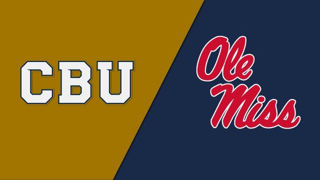 California Baptist vs. Ole Miss (Softball)