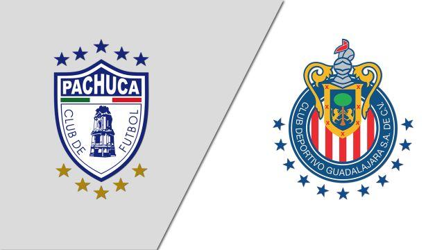 Sat, 1/18 - In Spanish-Pachuca vs. Guadalajara (Jornada 2) (Liga MX)