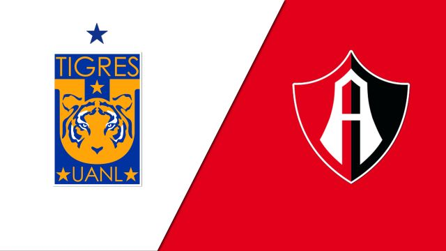 In Spanish-Tigres UANL vs. Club Atlas de Guadalajara (Jornada 3) (Liga MX)
