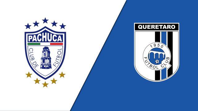 In Spanish-Pachuca vs. Gallos Blancos de Querétaro (Jornada 8) (Liga MX)