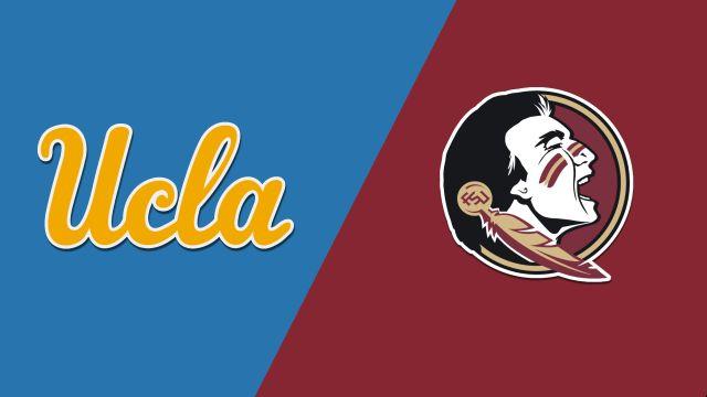 In Spanish- #2 UCLA vs. #5 Florida State (Softball)