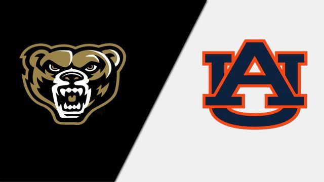 Oakland vs. #9 Auburn (Baseball)