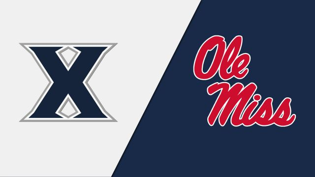 Xavier vs. #23 Ole Miss (Baseball)