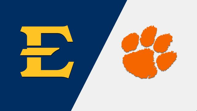 East Tennessee State vs. Clemson (Baseball)