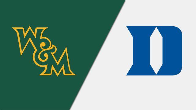 William & Mary vs. #20 Duke (Baseball)