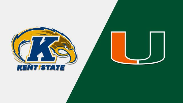 Kent State vs. #7 Miami (Baseball)